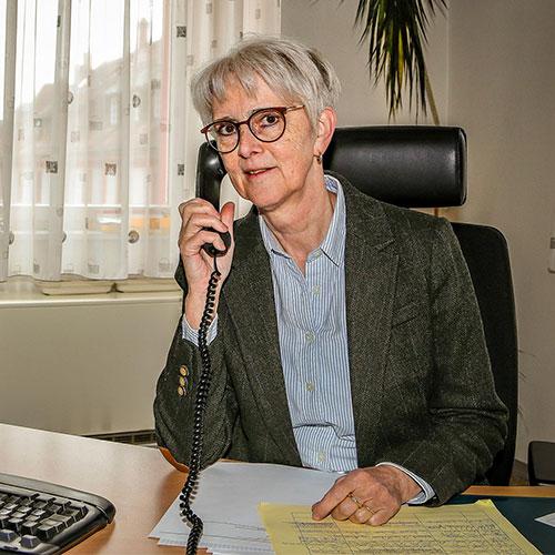 Hauptamtsleiterin Sylvia Huber